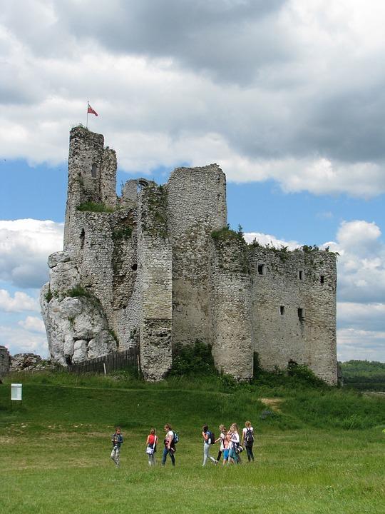 The Mirw Castle Ruins 14th Century Medieval Castles