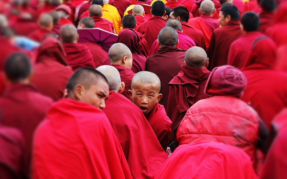 The Monks, The Monk, The Dalai Lama, Buddhism