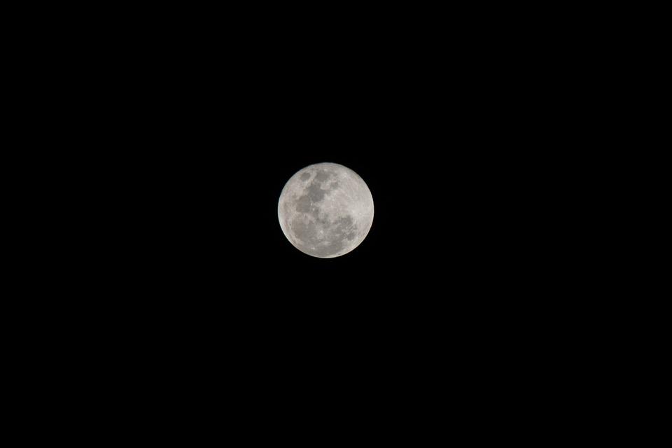 Moon, The Moon, Full Moon, Wanpen, New Moon