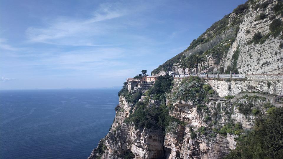 Rock, Scarp, The Mountain Road, Italy