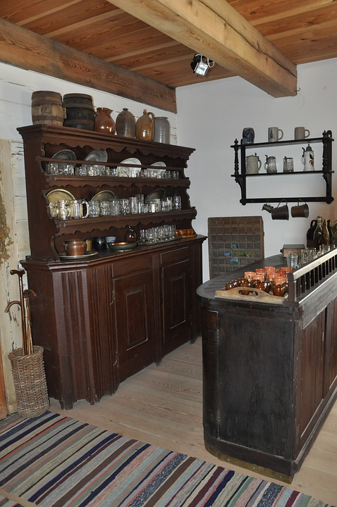 Dresser, Kitchen Utensils, Antiques, The Museum
