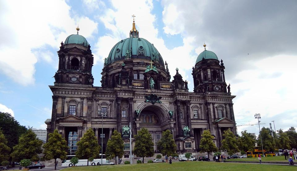 Berlin, The Cathedral, The Museum, Monument, Building