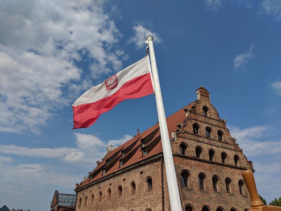Flag, Poland, The Nation, Symbol, Gdańsk, The Mast
