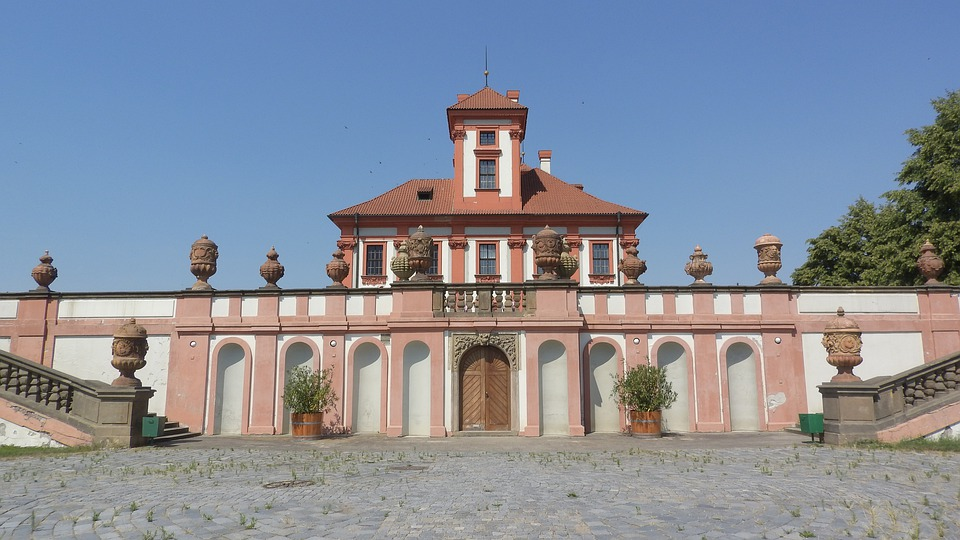 Lock Troy, Troja, Prague, The Prague Castle