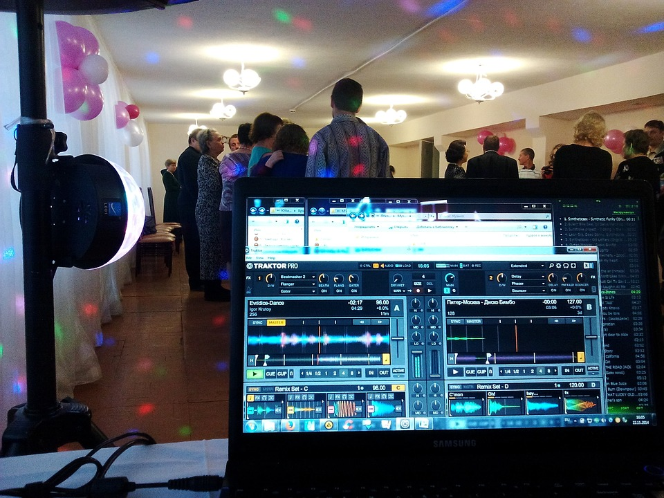 Disco, Party, Dj, Disc Jockey, Notebook, The Program
