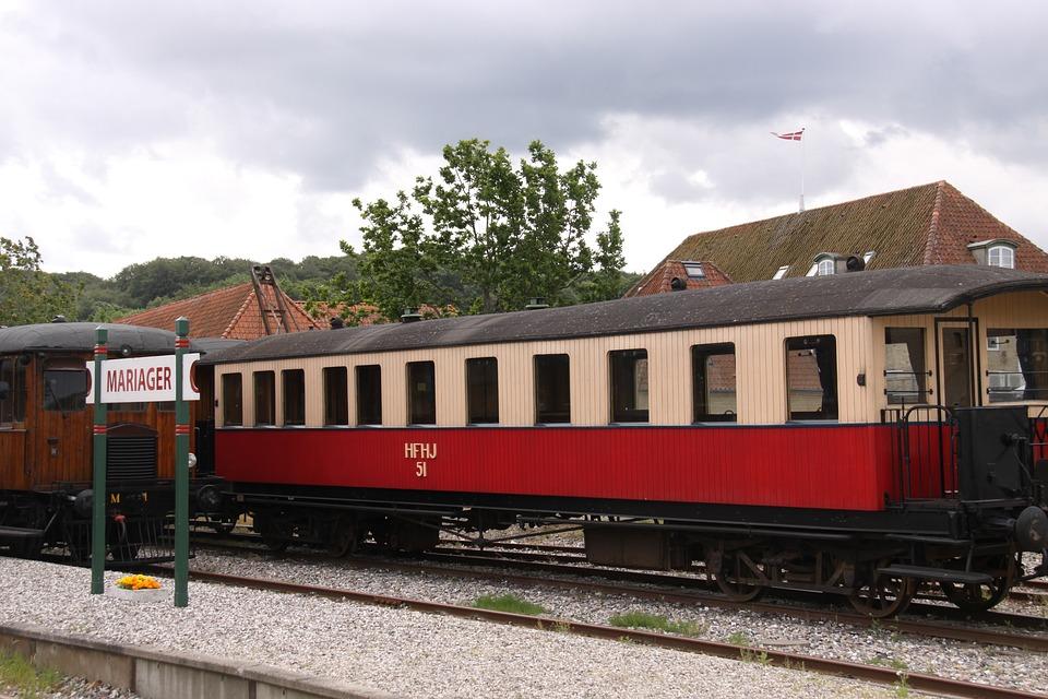 Carriage, Veterantog, Rail, Track, The Railroad, Train