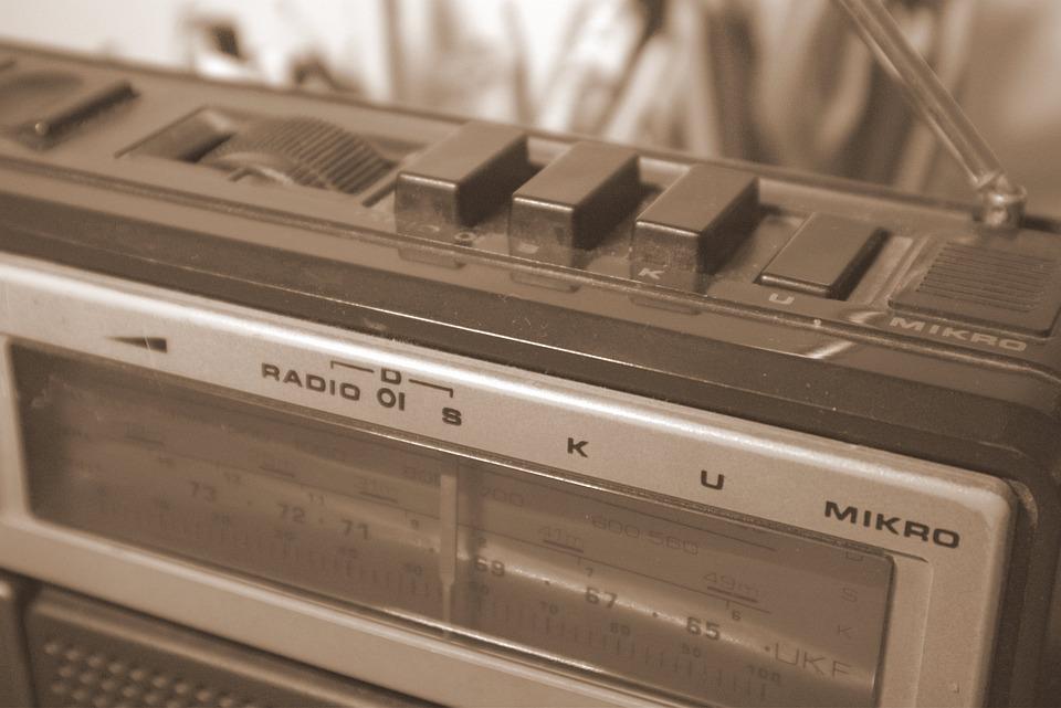 Radio, Old, Grandpa, The Receiver, Classic