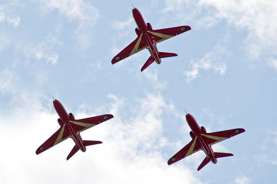 The Red Arrows, Simply The Best, Dawlish Air Show