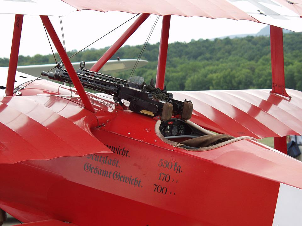 Triplane, Fokker Dr1, The Red Baron, Aircraft