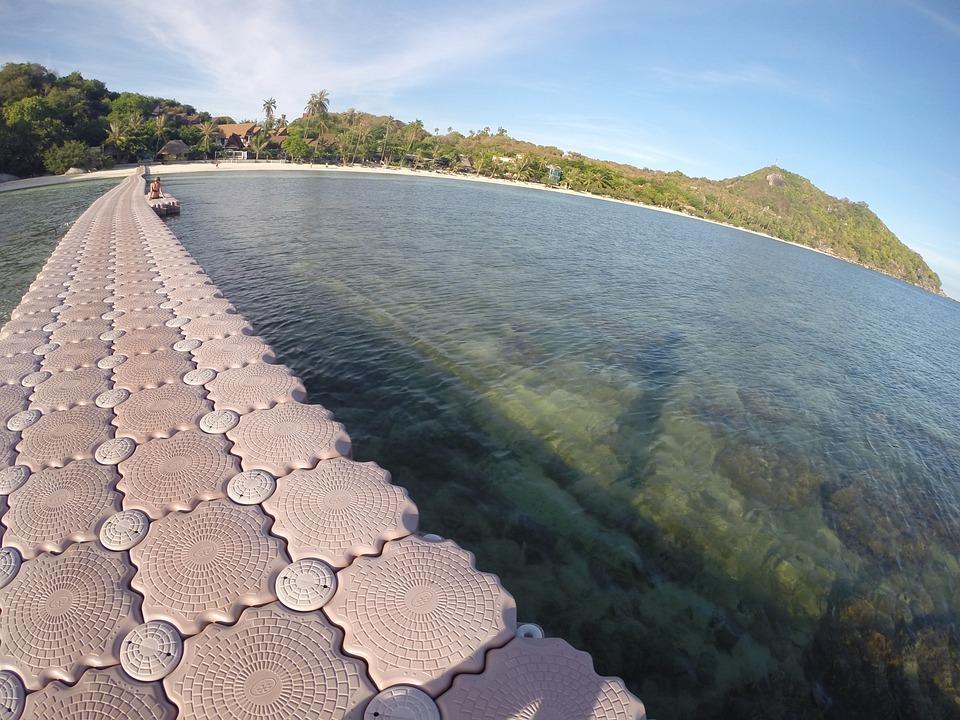 Beach, Thailand, Peace, Pier, The, Resort
