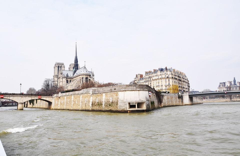 France, Paris, The River Seine