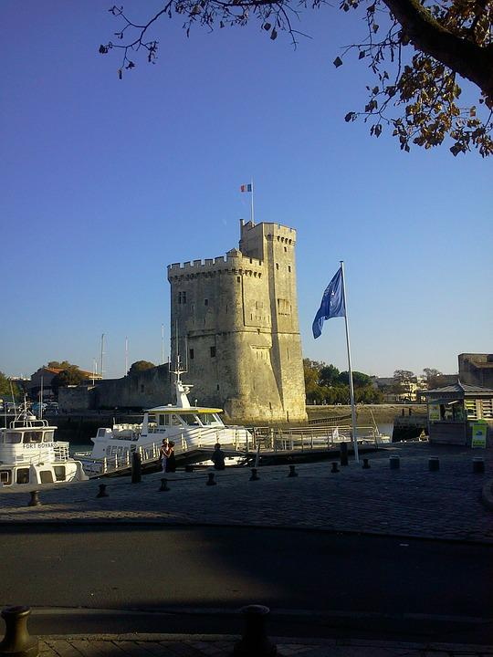 The Rochelle, France, Nantes, Tower, Castle, Fortress