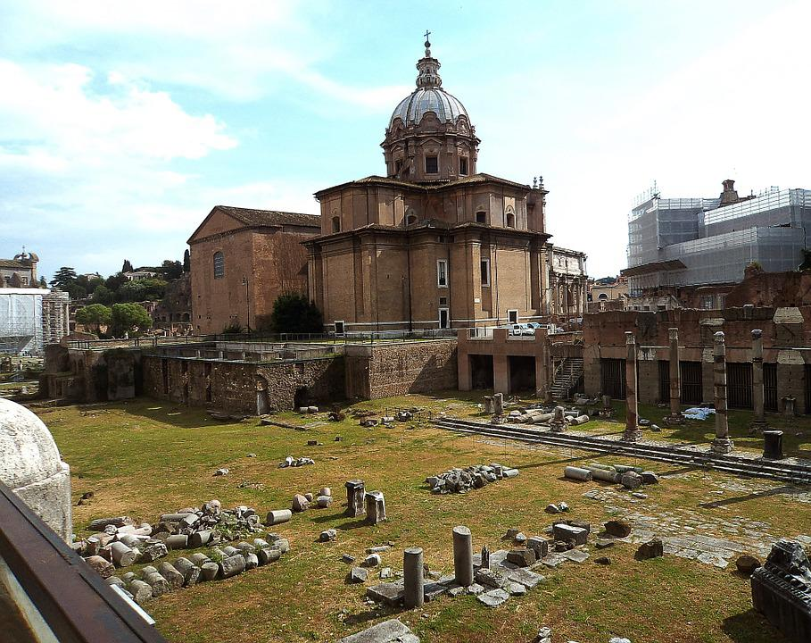 The Roman Forum, Architecture, Old Buildings