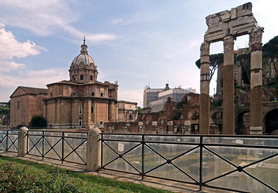 The Roman Forum, Architecture, Old Buildings