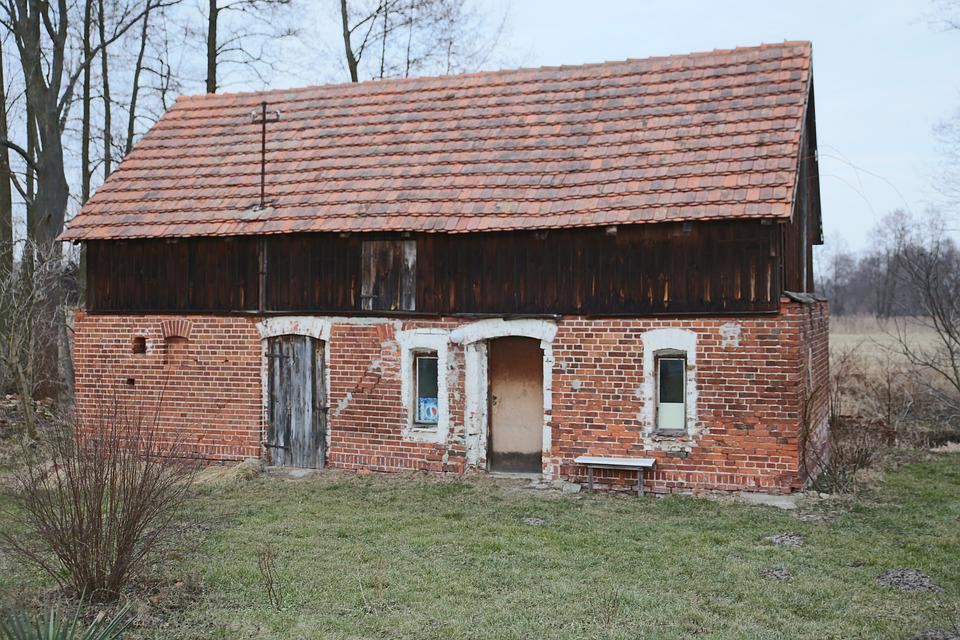 Mati, House, Architecture, The Roof Of The, Barn, Old