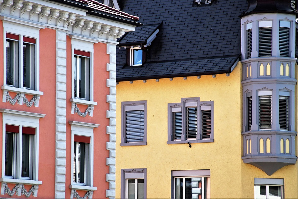 Architecture, The Roof Of The, House, Window, Balcony