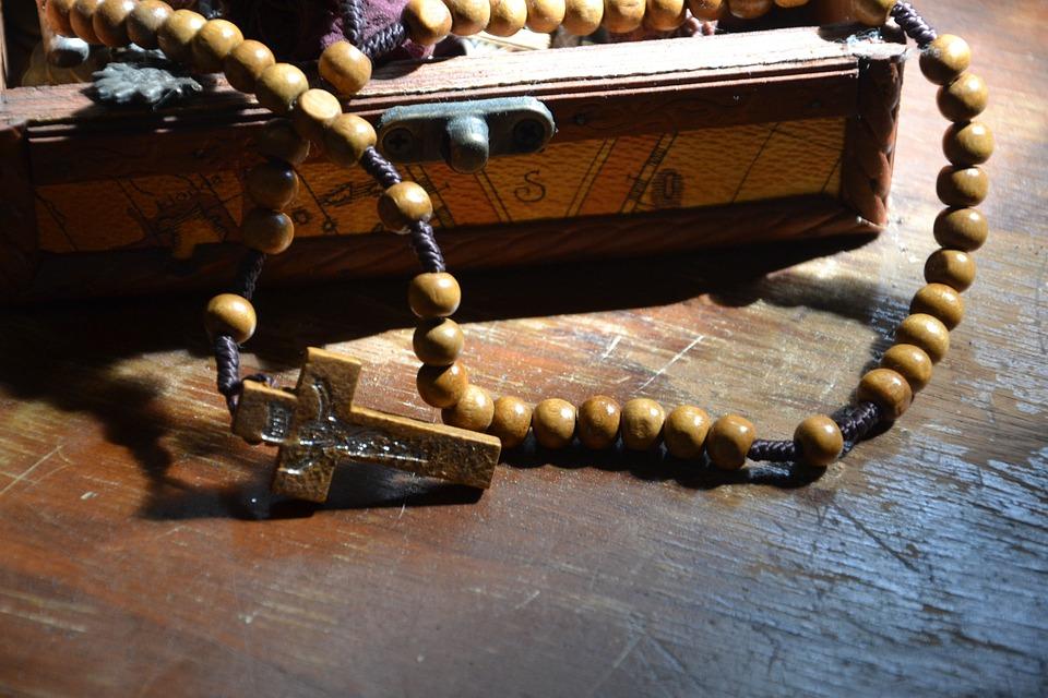 The Rosary, Beads, Christian, Cross, Jesus