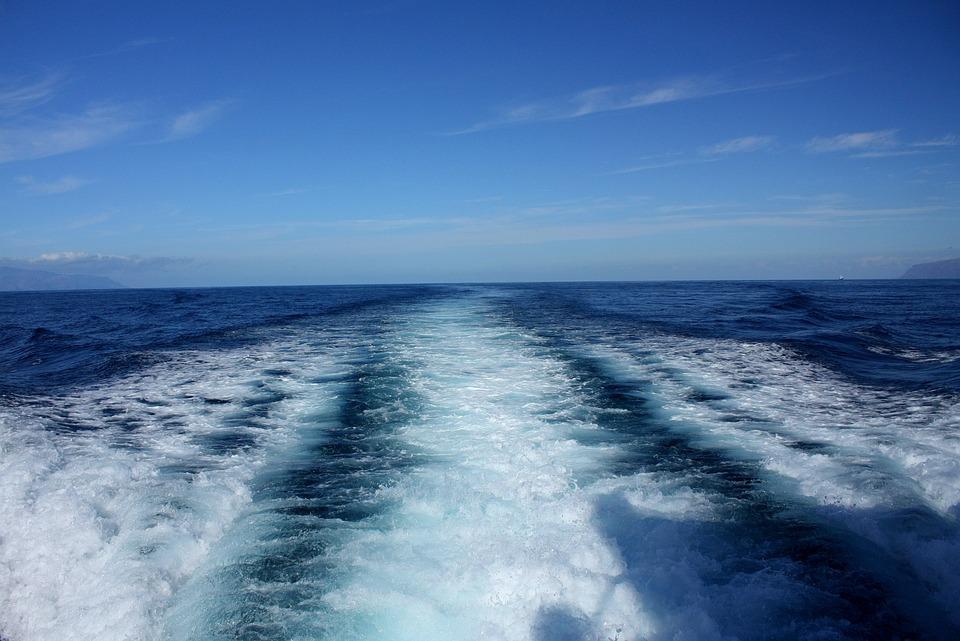 Ocean, Sea, Cruise, Water, Track, Baot, The Sail, Piana