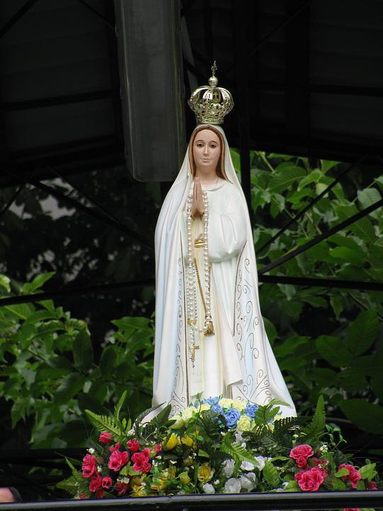 Mary, Cowshed, The Sanctuary, Scapular, Poland