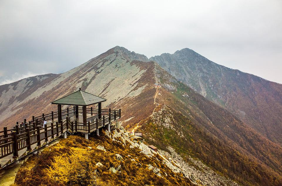 Taibaishan, The Scenery, China, Mountain, Landscape