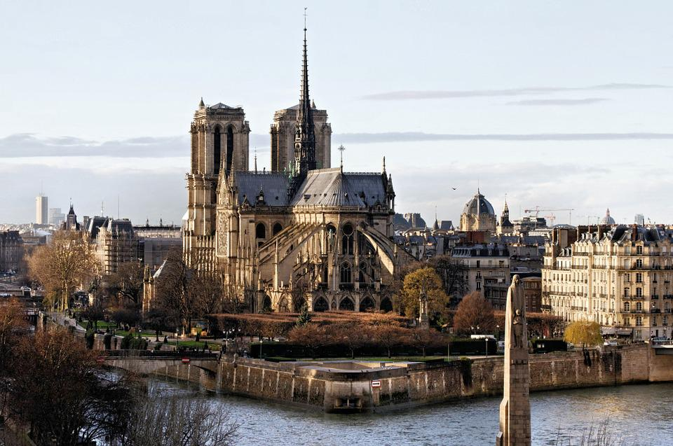 Notre Dame Of Paris, The Seine, Cathedral, Religion