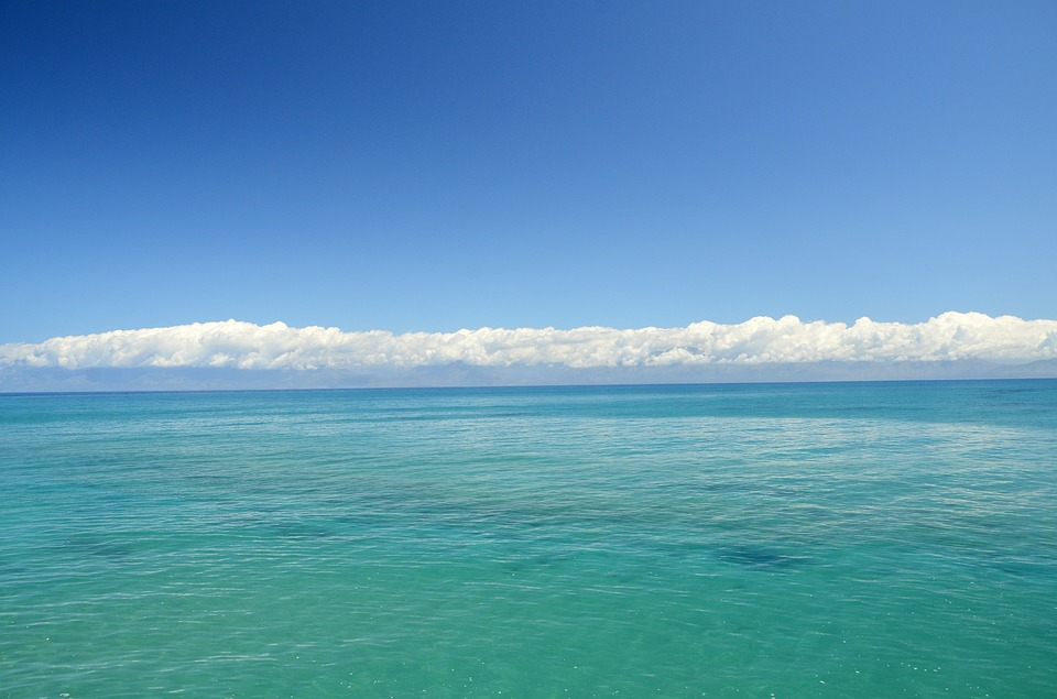 Sea, Clouds, The Silence, Peace Of Mind, Wallpaper