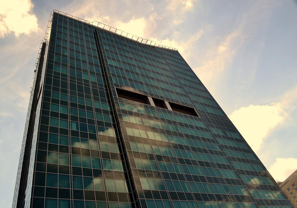 Glass, Architecture, The Skyscraper, Modern, Sky