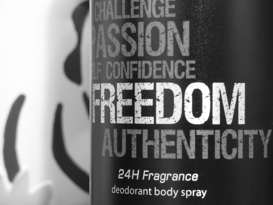 Beauty Product, Freedom, The Smell Of, Deodorant