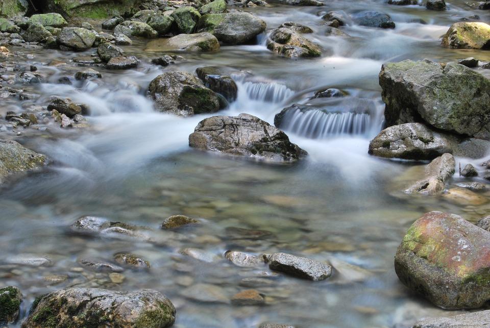 Tatry, Water, Stream, The Stones, Dolina Roztoki