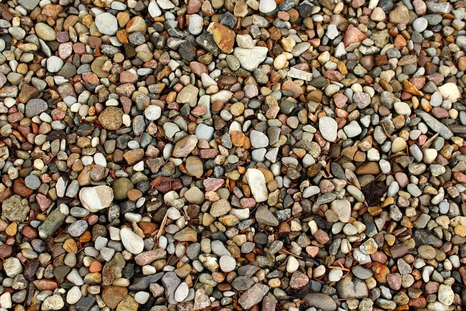 Pebbles, The Stones, The Background, Texture