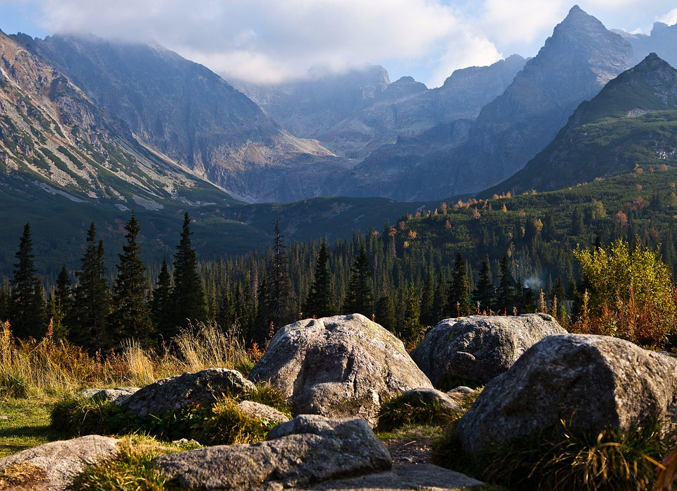 The High Tatras, Boulders, The Stones, Rocks, Mountains