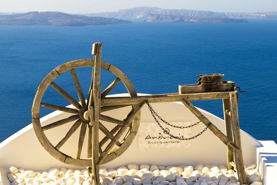 Santorini, Greece, Landscape, Heat, The Stones, Nature