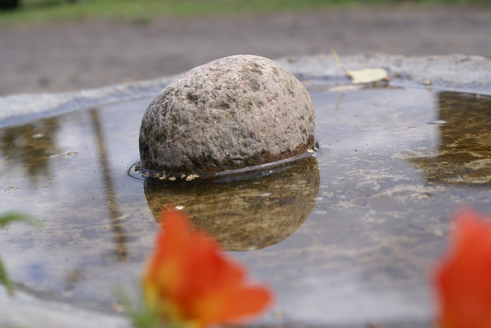 Stone, Water, Nature, Wet, The Stones