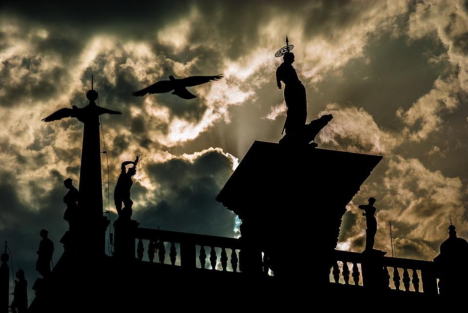 Venice, The Sun, Holidays, Clouds, Sky, Landscape