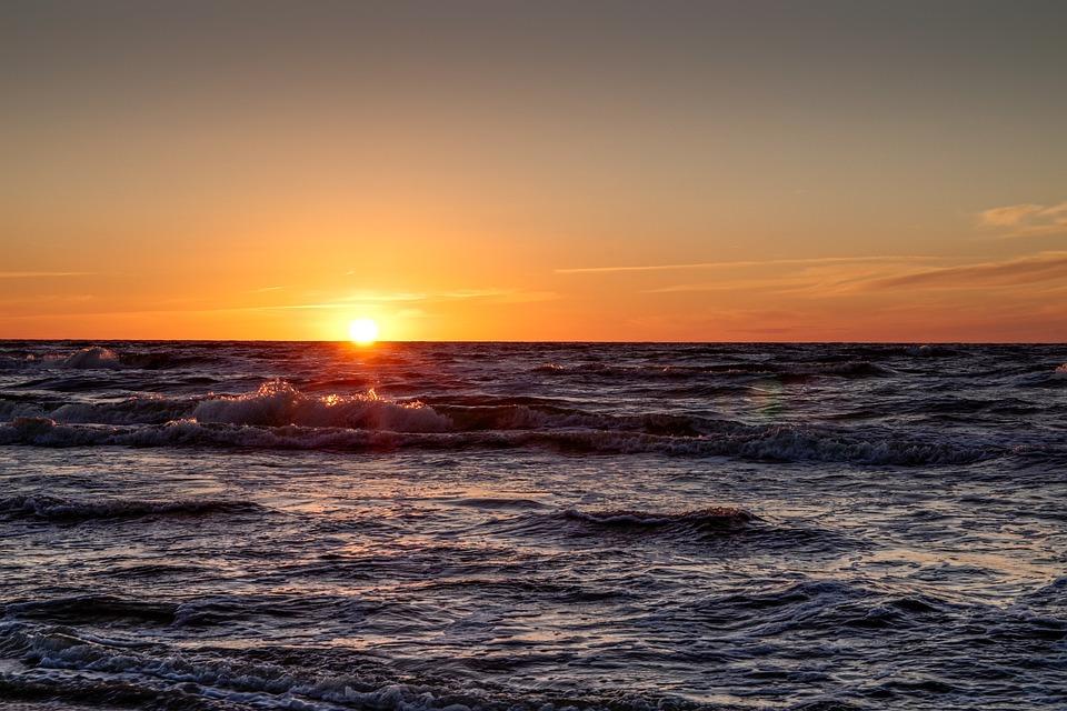 Sea, Ocean, The Sun, The Waves, Holidays, Summer, Beach