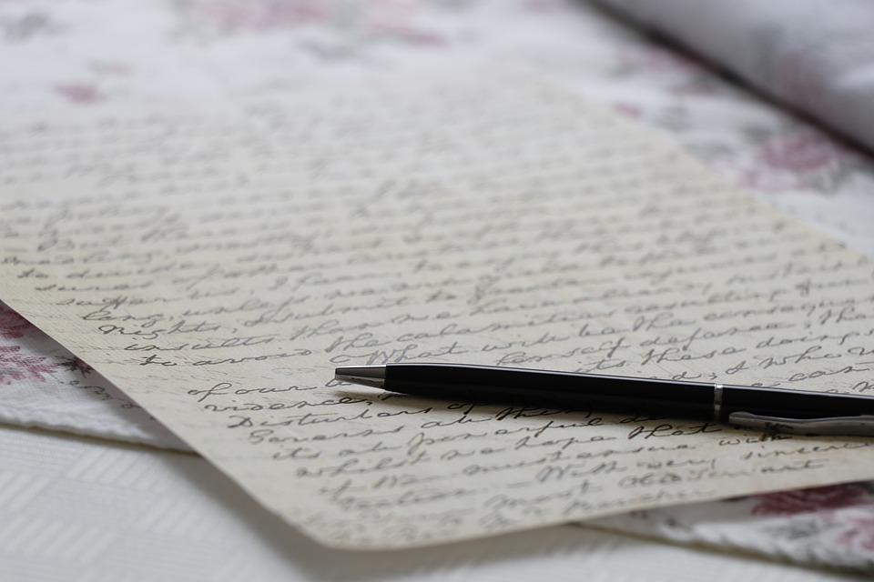 Pen, Handwritten Text, The Text Of The, Letter, Paper