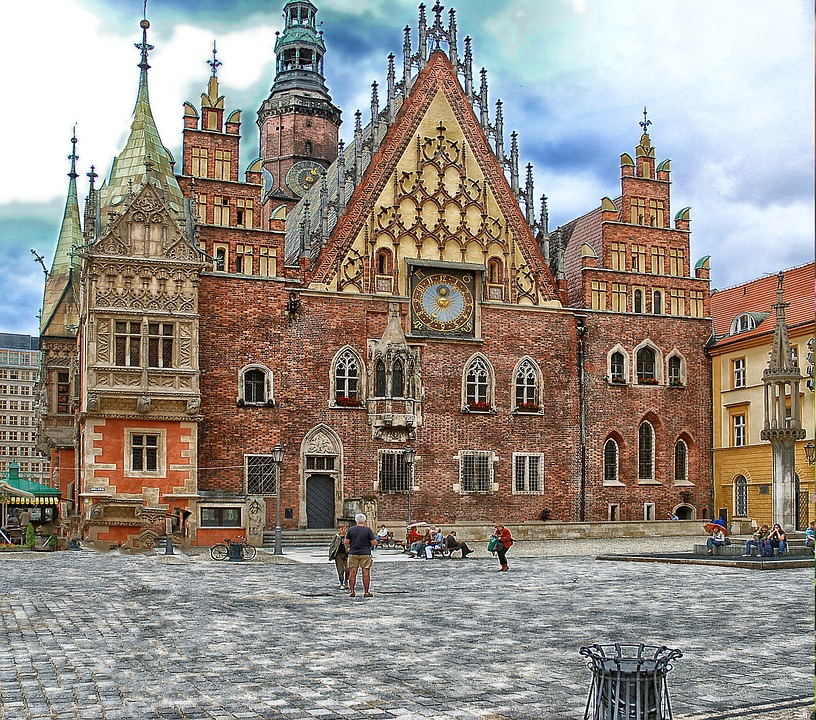 The Town Hall, Wrocław, Building, Complex, Architecture