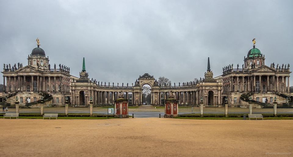 The Town Of Potsdam, University, Germany, Architecture