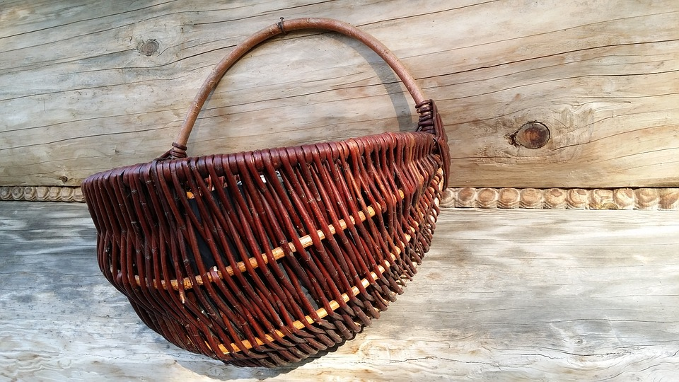 Shopping Cart, Easter, Wicker, The Tradition Of