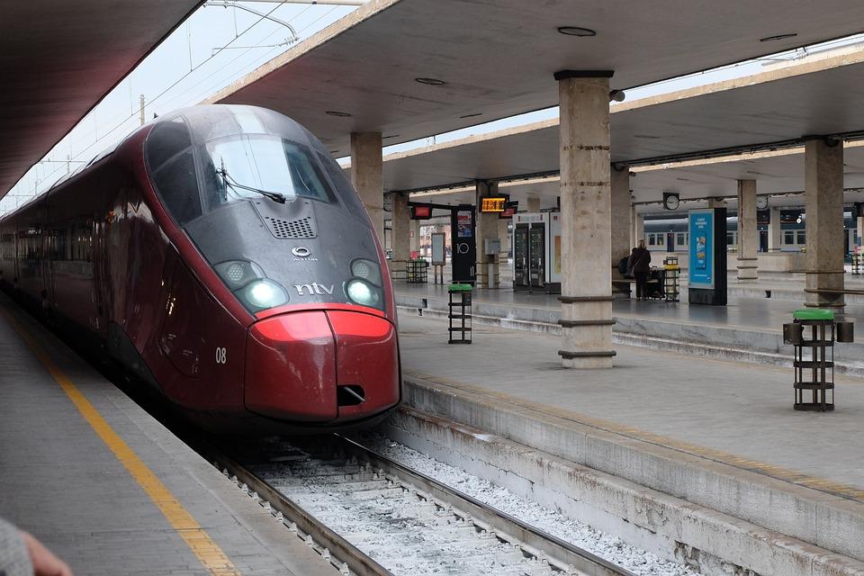 Train, The Transportation System, Station, Railway