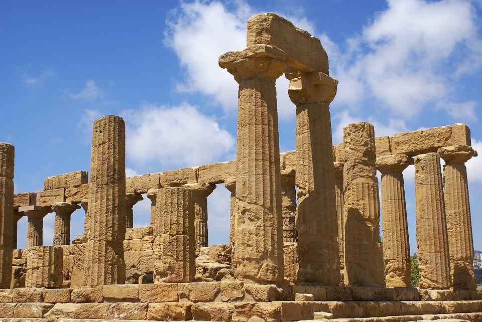 Agrigento, The Valley Of The Temples, Sicily, Italy