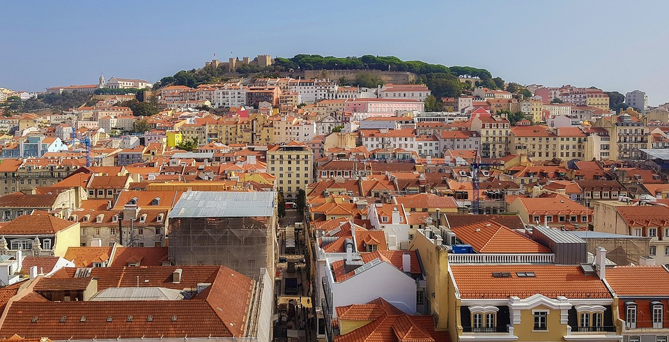 Lisbon, City, The View Of The Town, Old Town