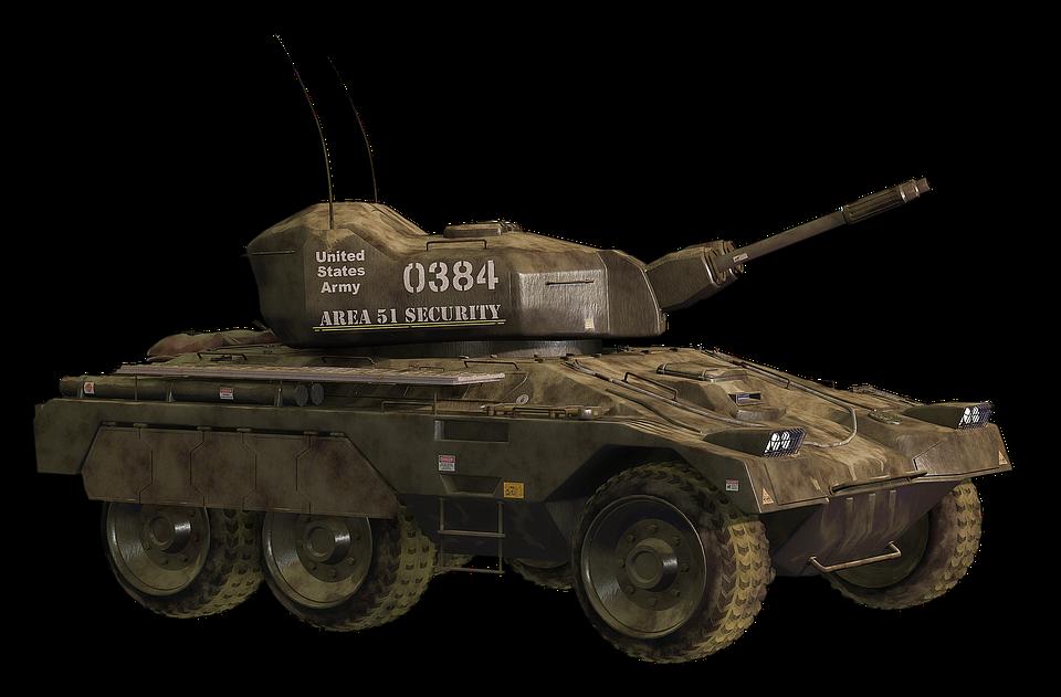 Armored Car, Machine, The War, Military, War, Weapon