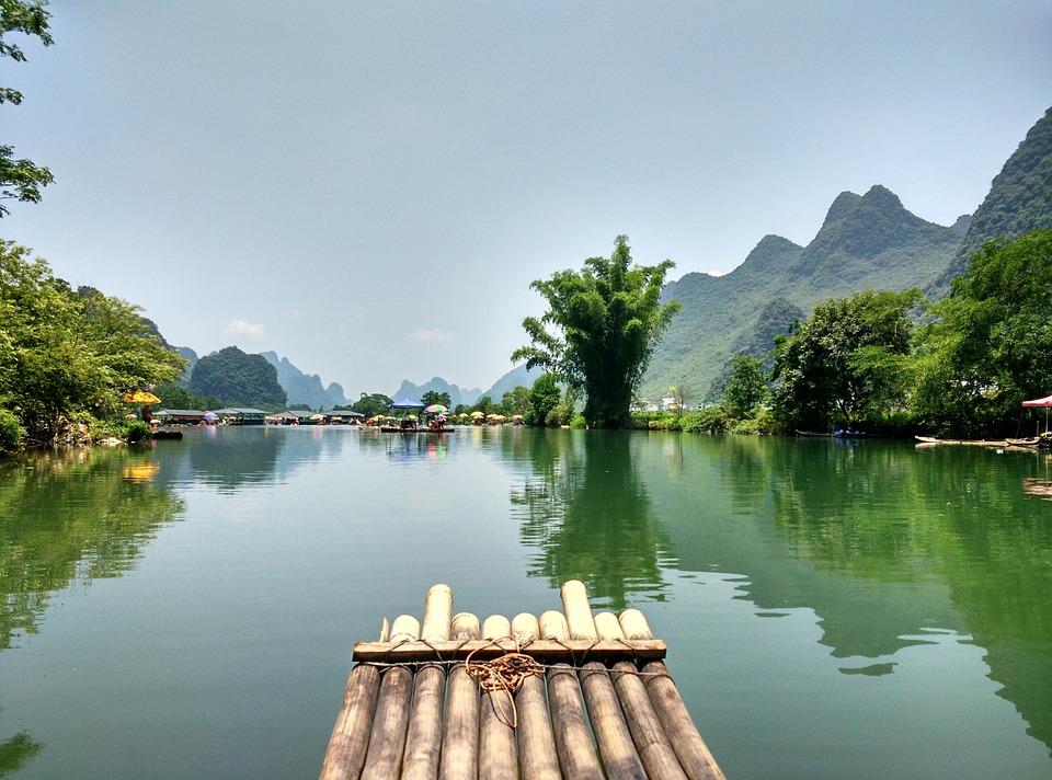 Guangxi, Guilin, The Scenery, The Water