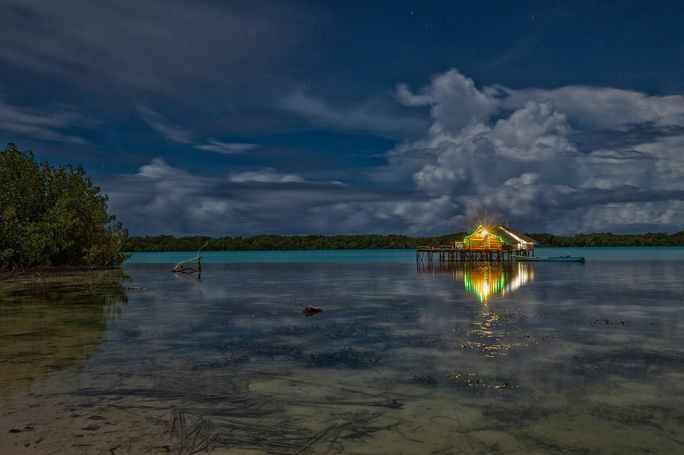 Lagoon, Night View, The Water Shed, Light Up, Atoll