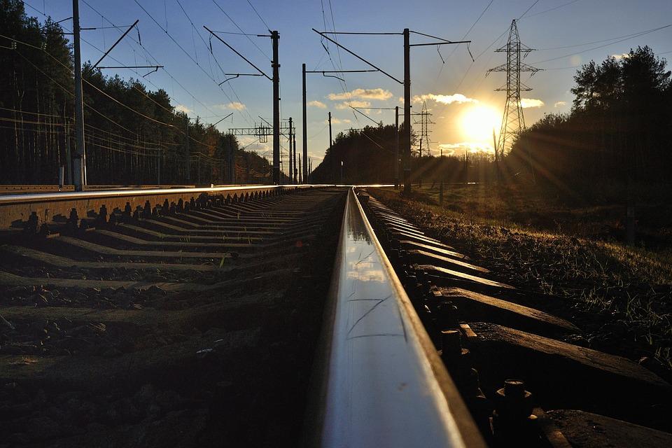 Rail, W, D, The Way, Transport, Train, Road, Sleepers