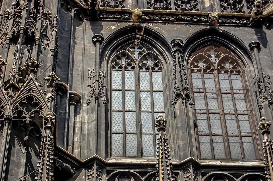 The Cathedral, Church, The Window, Vienna, Austria