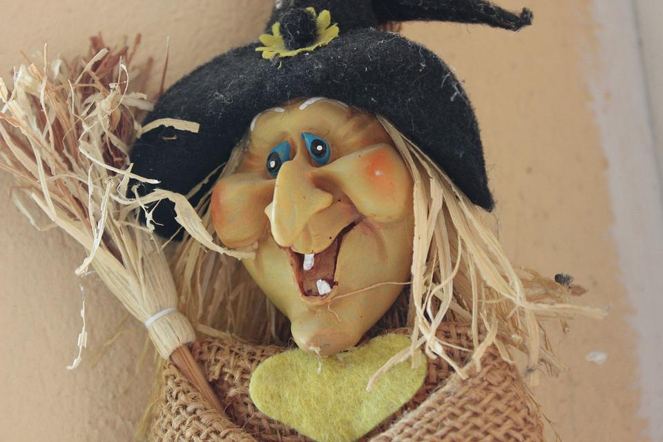 Helloween, The Witch, Figure, Masquerade, Doll