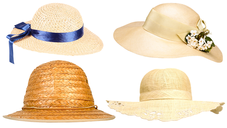 Hat, Women's Hat, The Woman's Headdress, Silk Ribbon