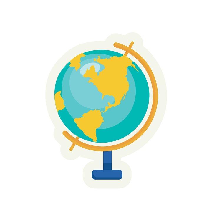Globe cute. Free photo the world